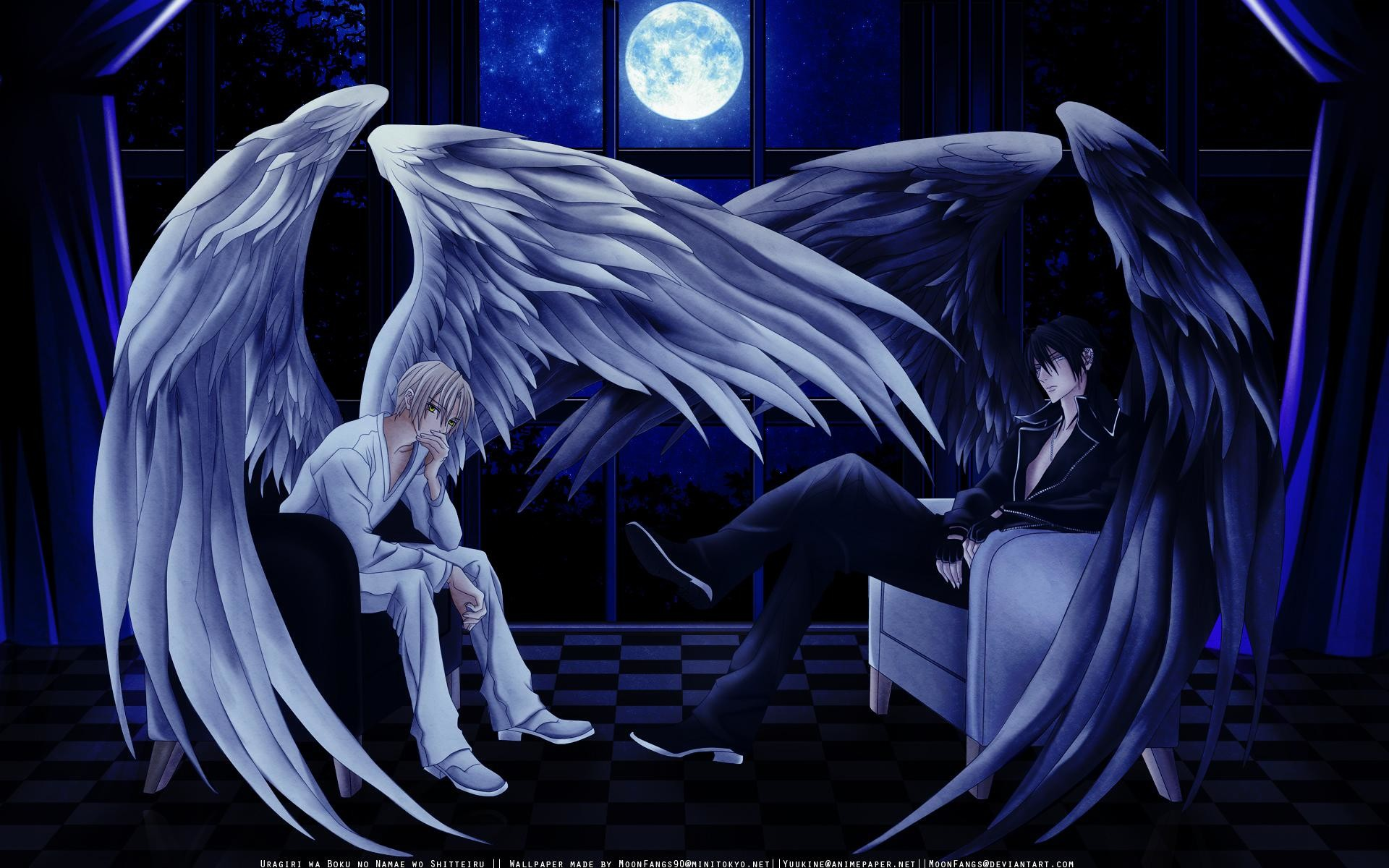 1920x1200 Anime-angel-boy-wallpaper-wings