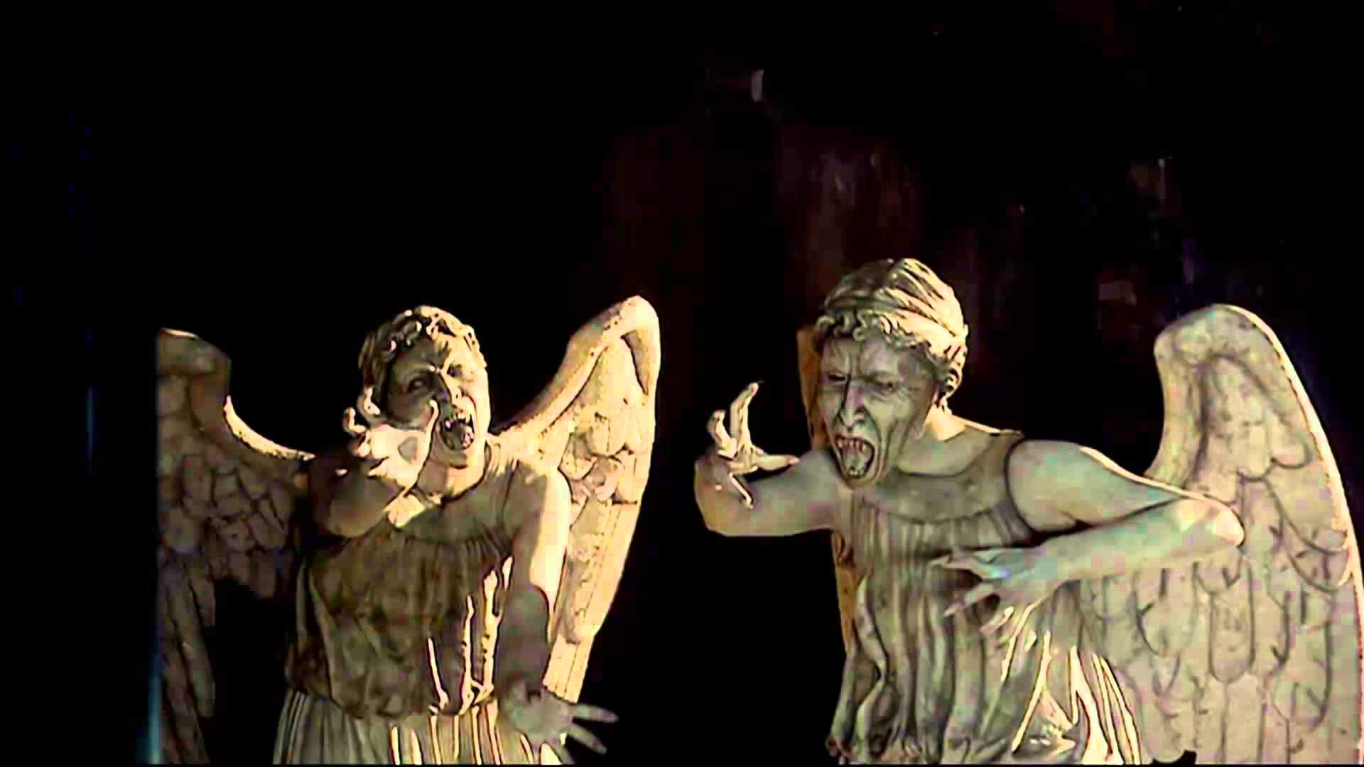 1920x1080 Doctor Who Weeping Angels Screensaver - YouTube