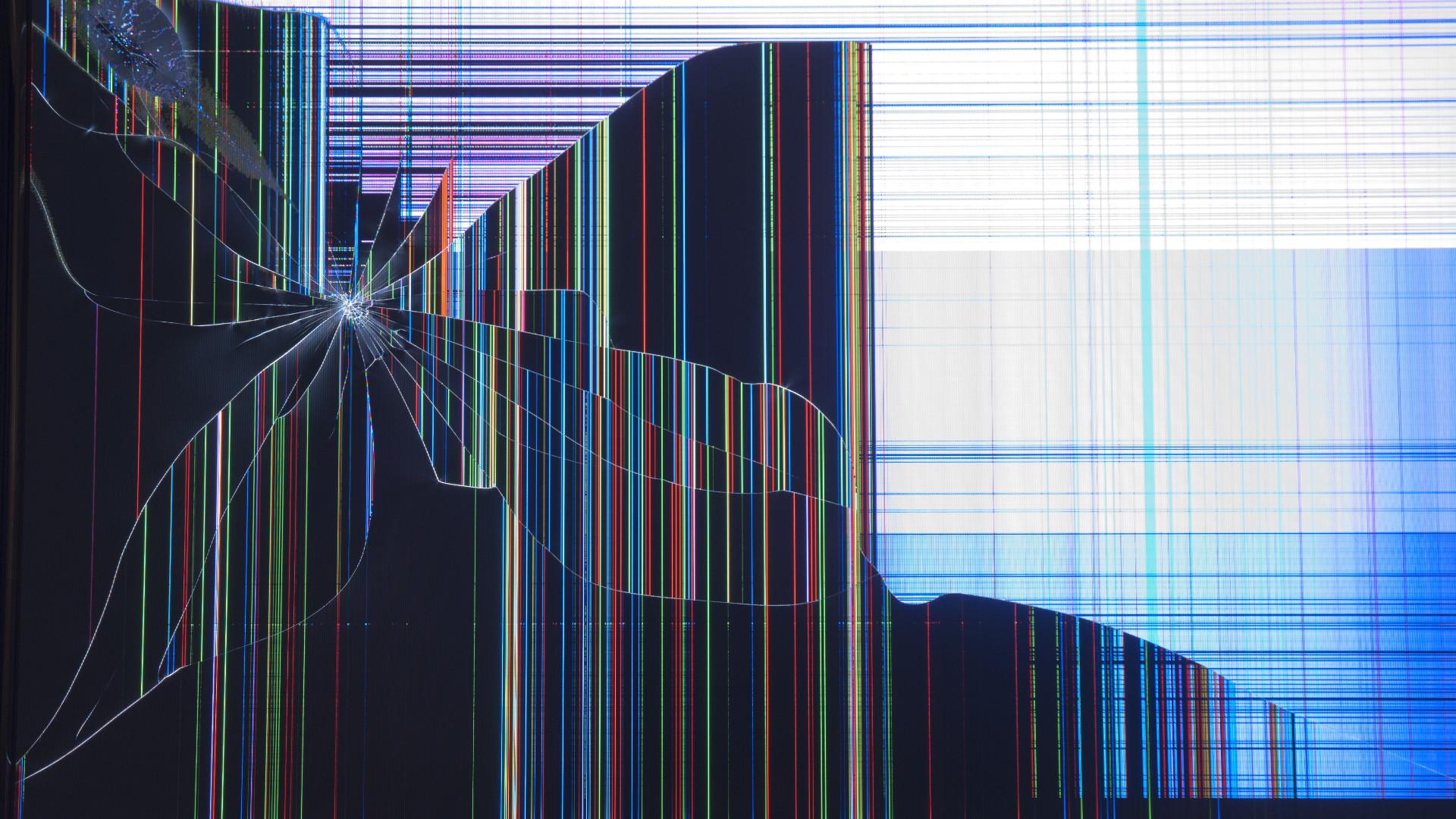 Broken Laptop Screen Wallpaper: Broken Lcd Screen Wallpaper (62+ Images