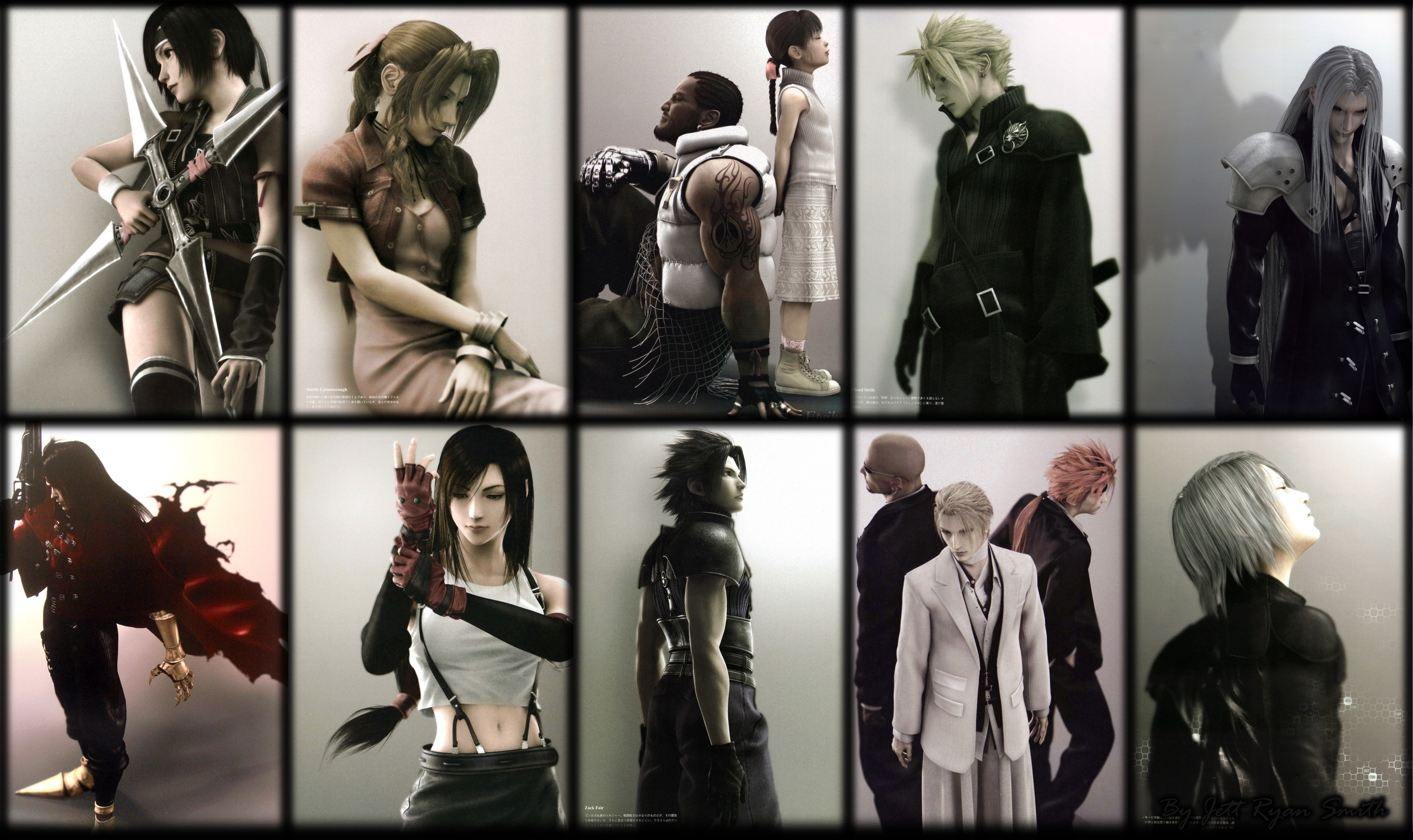 3000x1784 Final Fantasy VII · download Final Fantasy VII image
