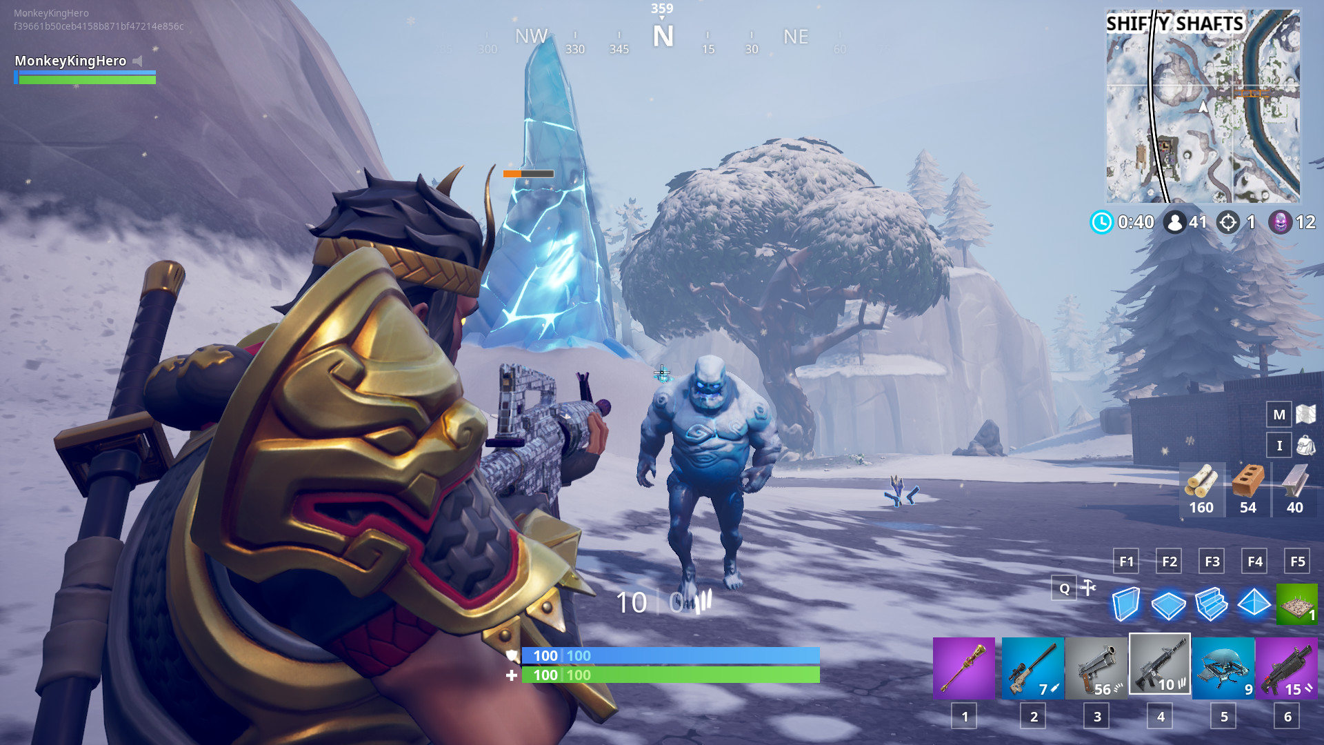 "1920x1080 How to complete the ""Destroy Ice Brutes"" Ice Storm Fortnite challenge"