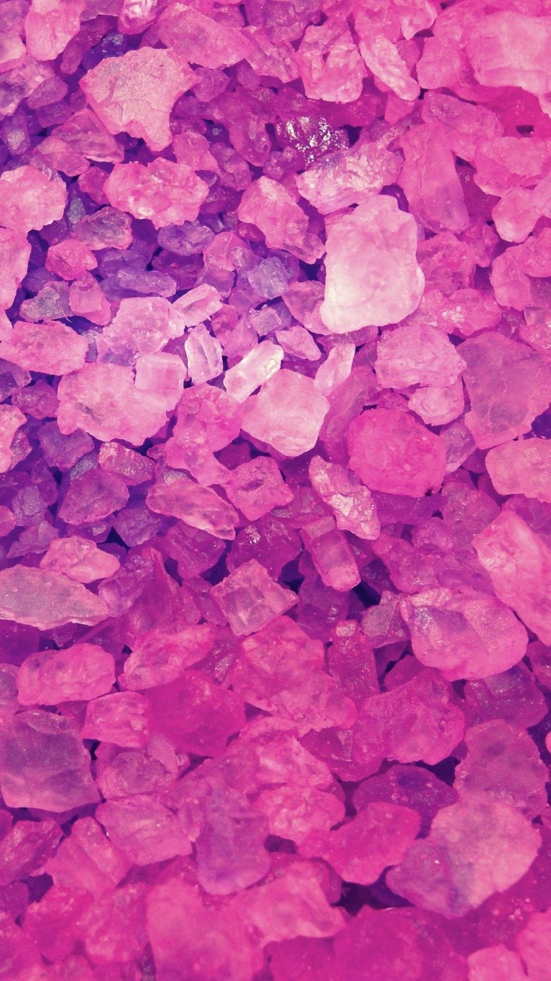 1080x1920 Pink Crystals Lockscreen iPhone 6 Plus HD Wallpaper ...