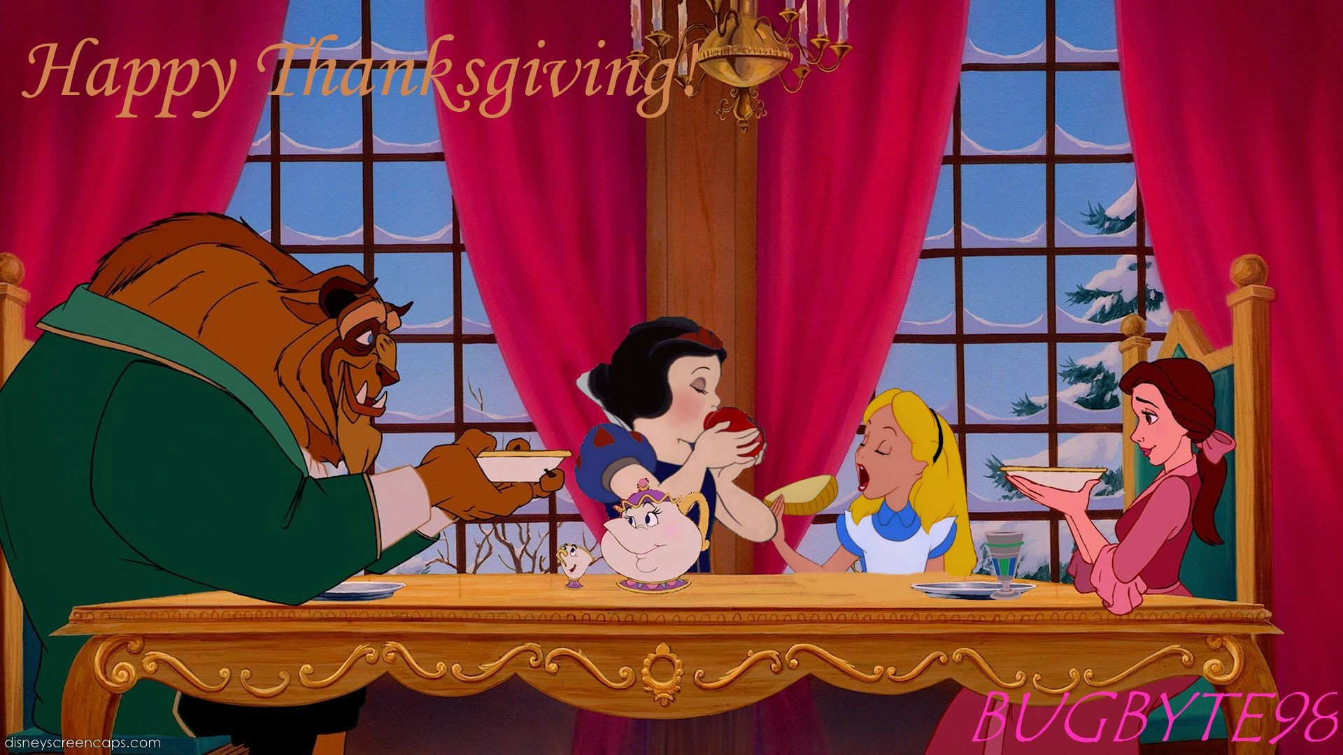 Disney Thanksgiving Desktop Wallpaper 59 Images