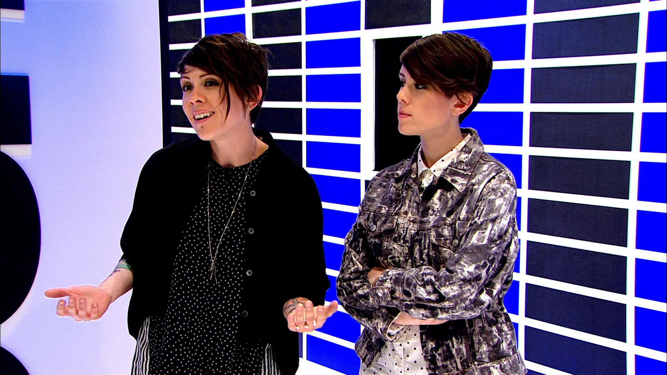 2560x1440 Tegan and Sara Talk 'The Con X' Covers Album, Crazy Drinking Stories at  Lollapalooza - Fuse