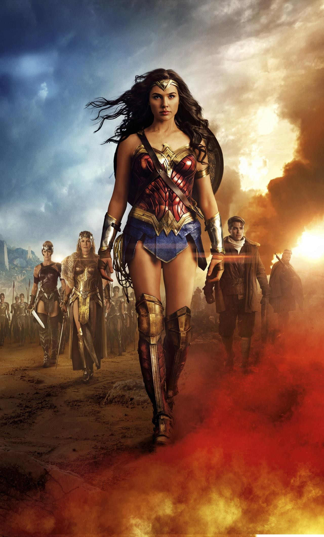 1280x2120 wonder woman wallpaper for iphone #746878