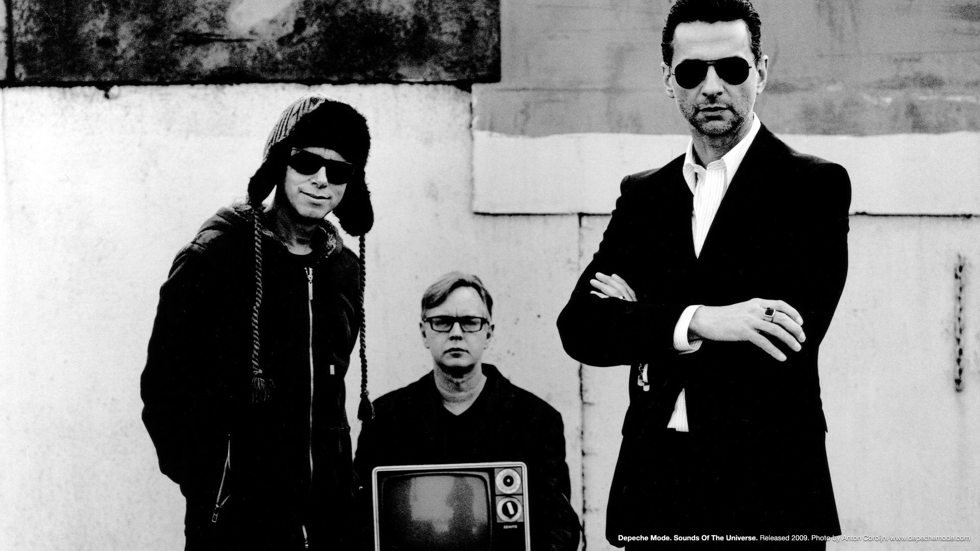 1920x1080 Depeche Mode, photo wallpaper from the official dm site: http://archives