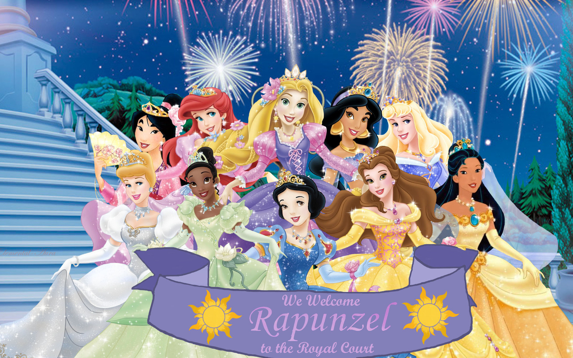 1920x1200 High Resolution Disney Princess Desktop Background Full Size .