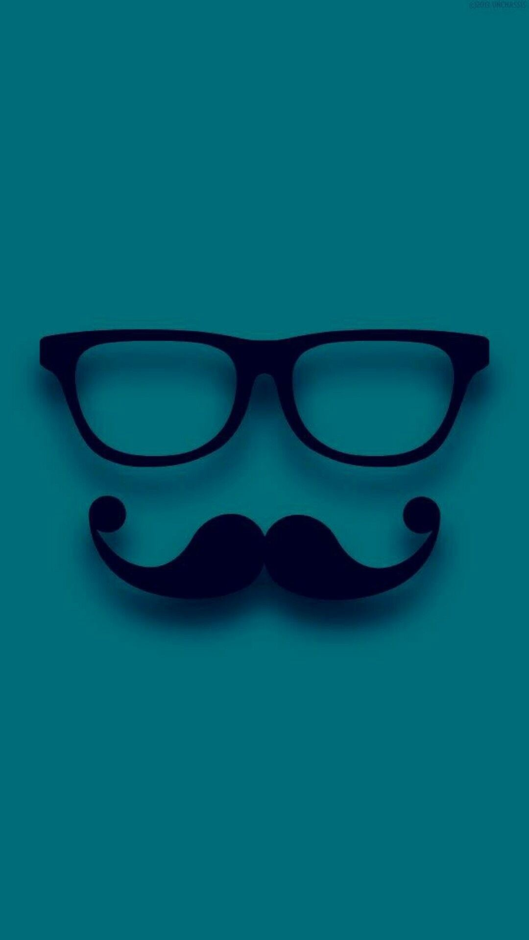 1080x1920 Lentes y bigote perfect Wallpaper Iphone Cute, Emoji Wallpaper, Cellphone  Wallpaper, Cool Wallpaper