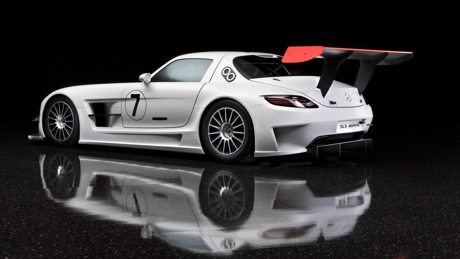 1920x1080 Mercedes Benz SLS AMG GT3 Wallpaper