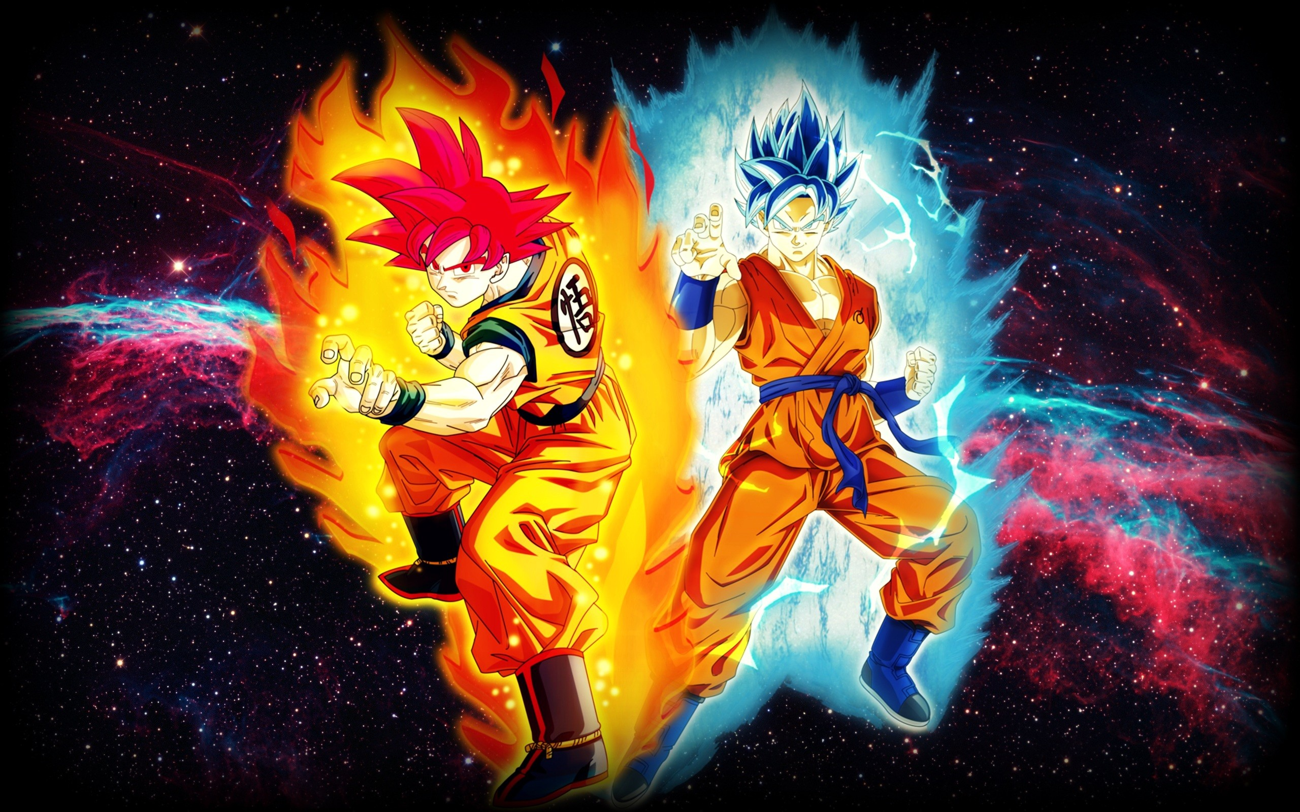 2560x1600 Goku Super Saiyan God Blue Kaioken X10 Wallpaper Image Gallery - HCPR