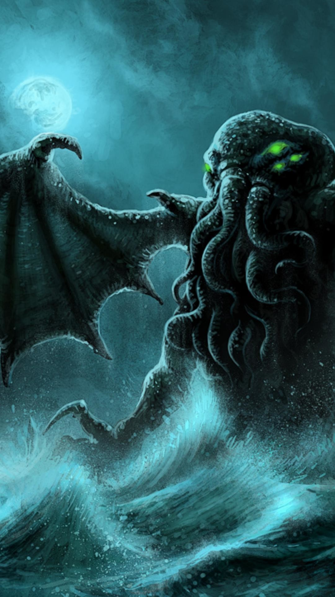 1080x1920 <b>Cthulhu</b> - Apple/<b>iPhone<