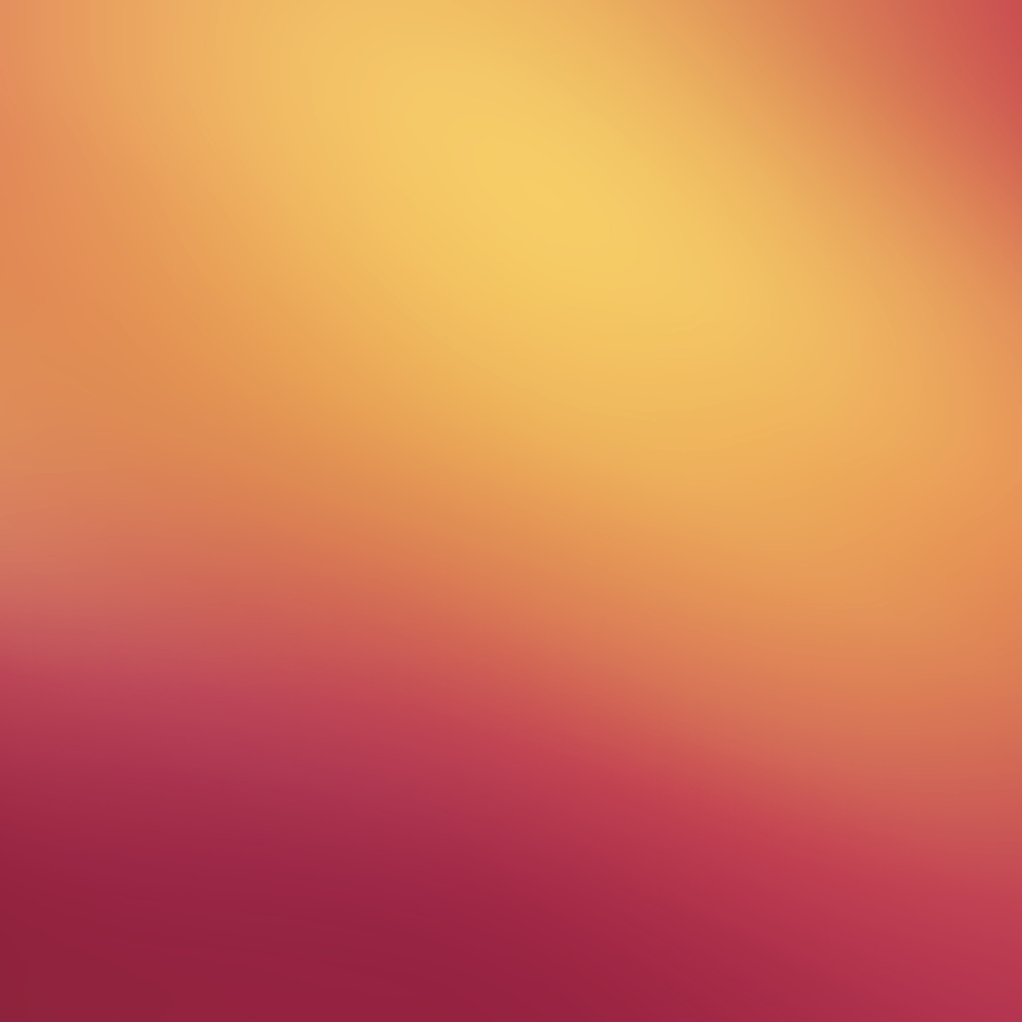 2048x2048 Orange Blend - Tap to see more simple gradient abstract wallpapers!