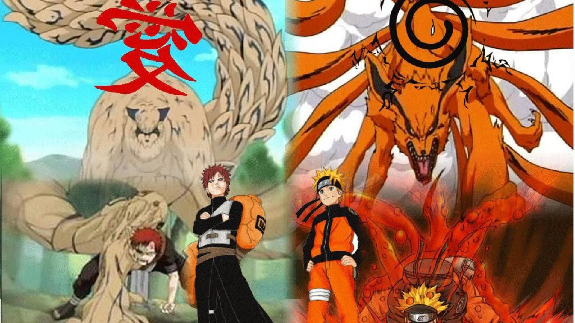 1920x1080 Naruto and gaara by cartoon hd wallpaper HQ WALLPAPER - (#38727)