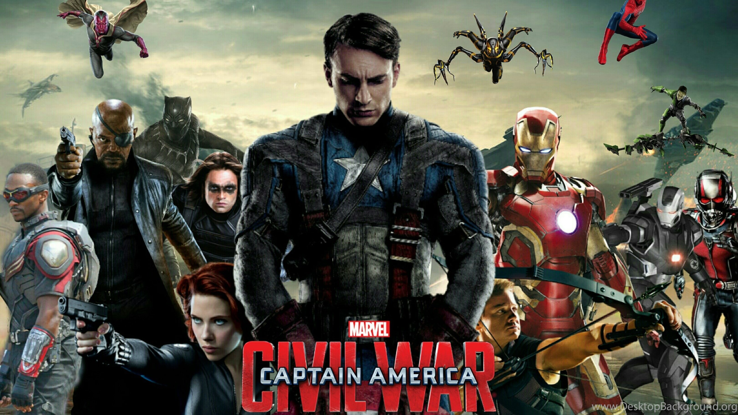 Civil War Marvel HD Wallpaper (70+ images)  Civil War Marve...