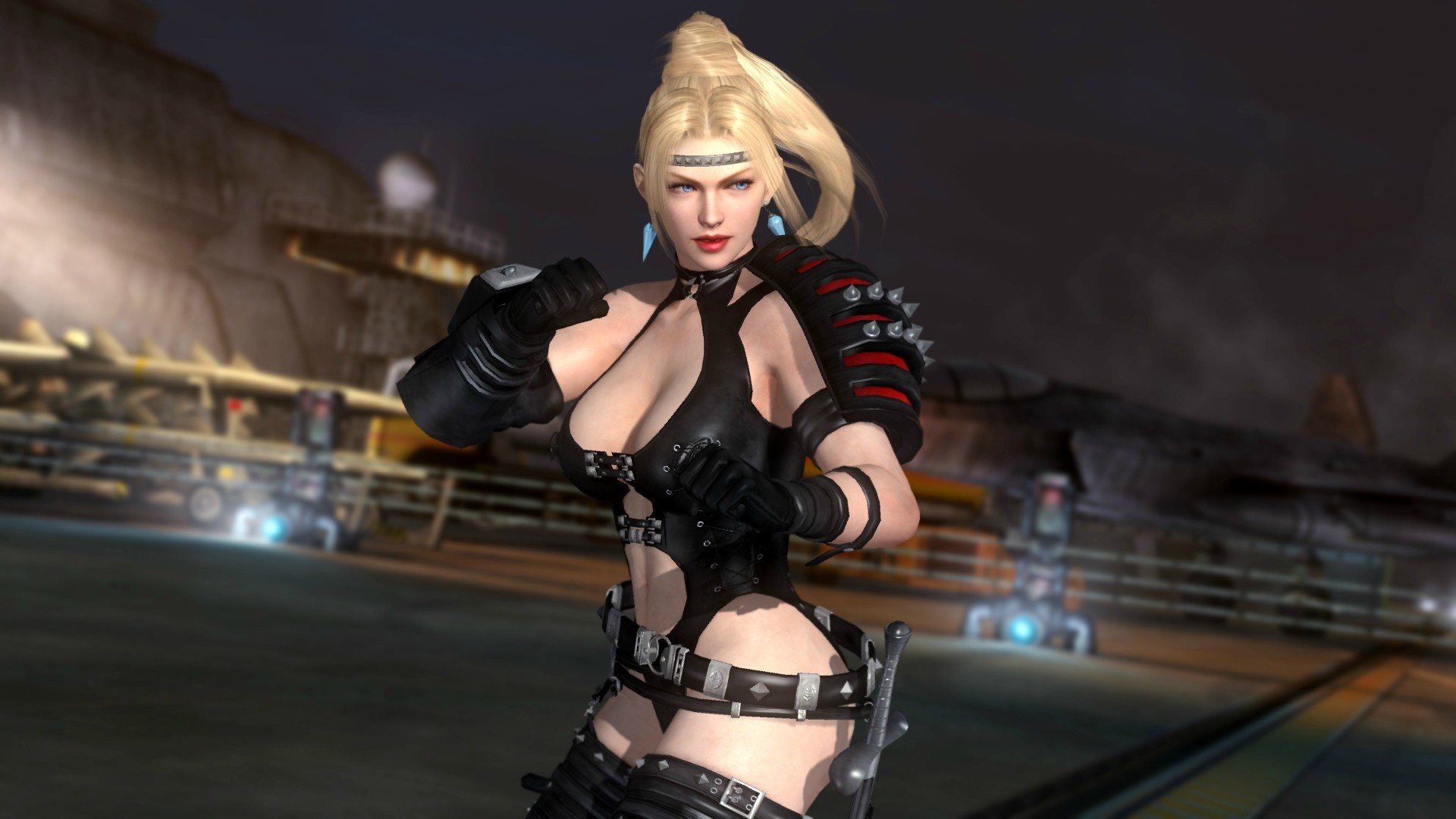 1920x1080 ... for Dead or Alive 5 Ultimate. Rachel now joins Momiji from the Ninja  Gaiden series and returning fan favorite character Leon, along with 2 new  stages, ...