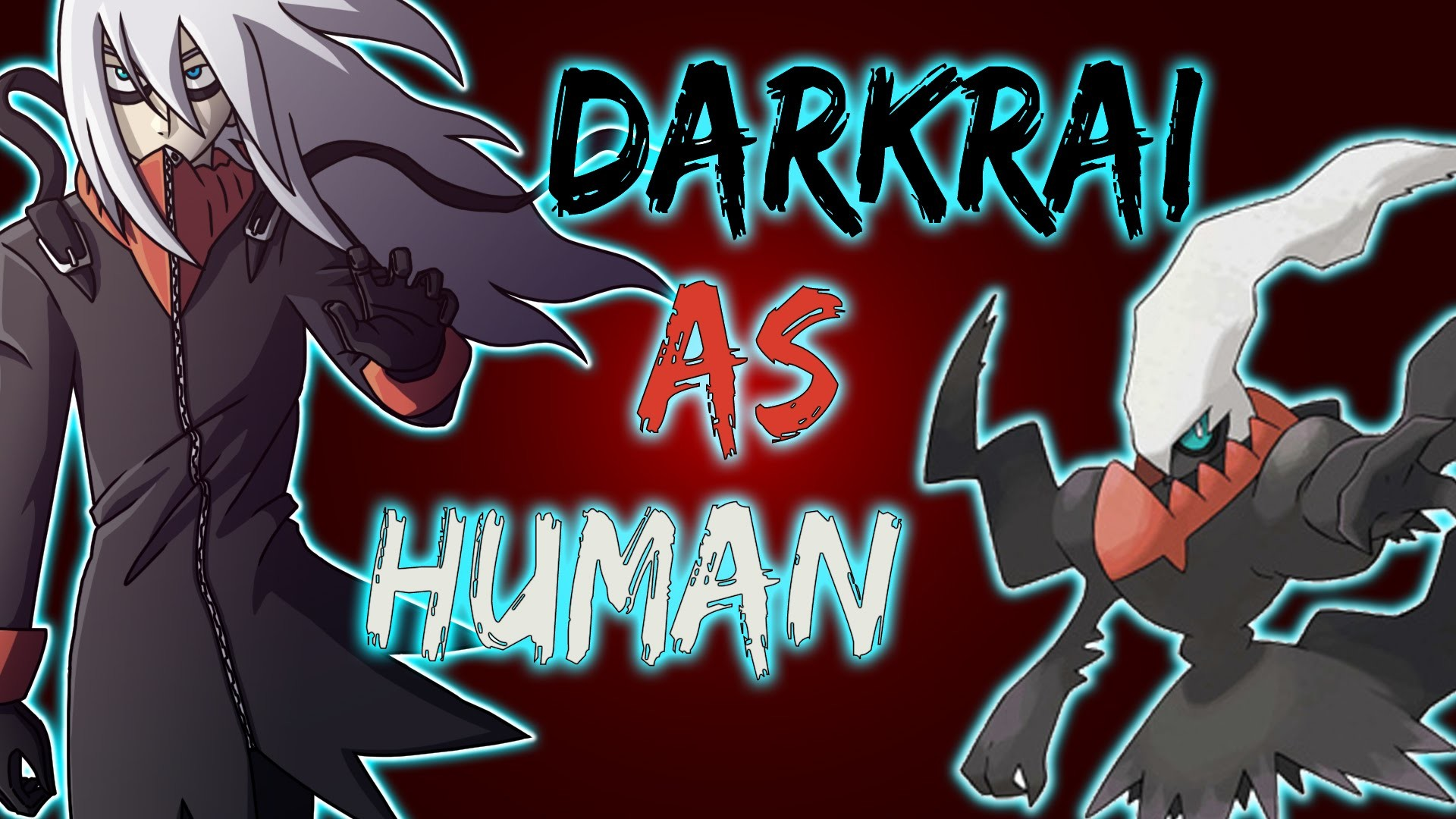 1920x1080 Pokemon to Human: Darkrai | Transformation Challenge | Time Lapse Drawing -  YouTube