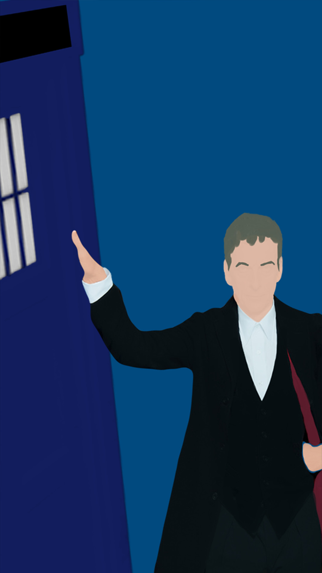 Doctor who iphone 6 wallpaper 68 images 1080x1920 these minimalistic season 8 doctor who wallpapers ybax start voltagebd Image collections