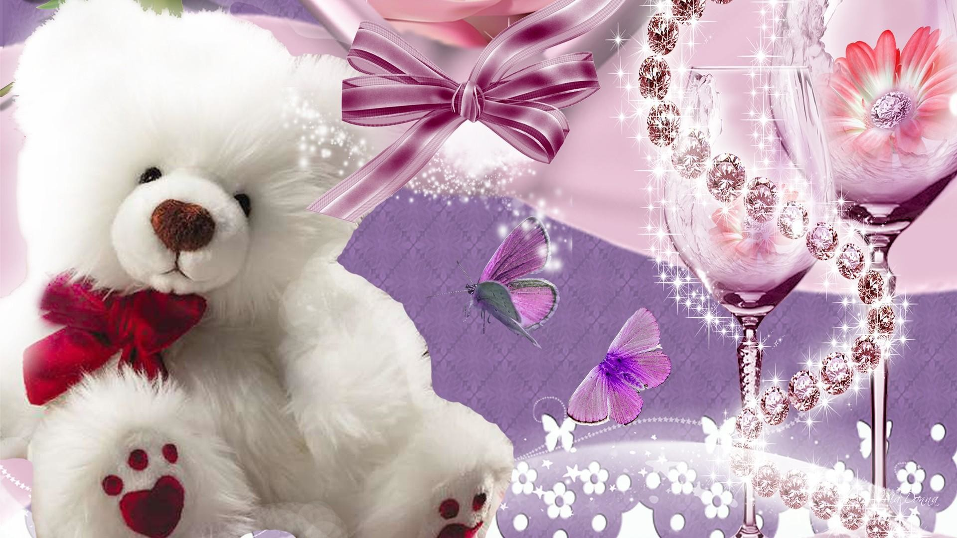 Love Teddy Bear Wallpapers 48 Images