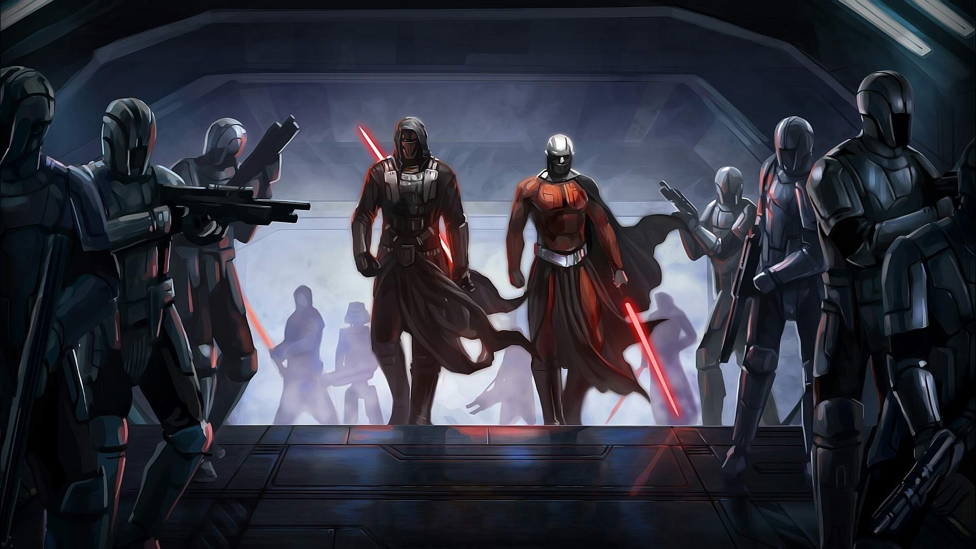 1920x1080 Knights of the Old Republic is Too Much for the Current Star Wars Canon -  Geek Reply
