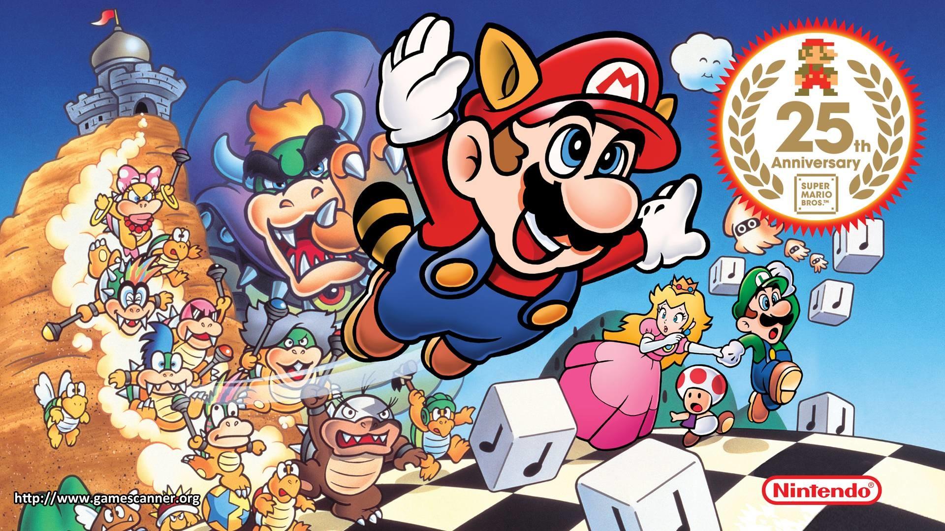 Super Mario 3 Wallpaper 64 Images