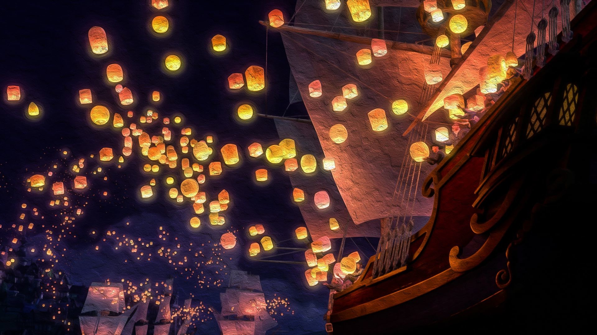 tangled floating lanterns desktop wallpaper 74 images