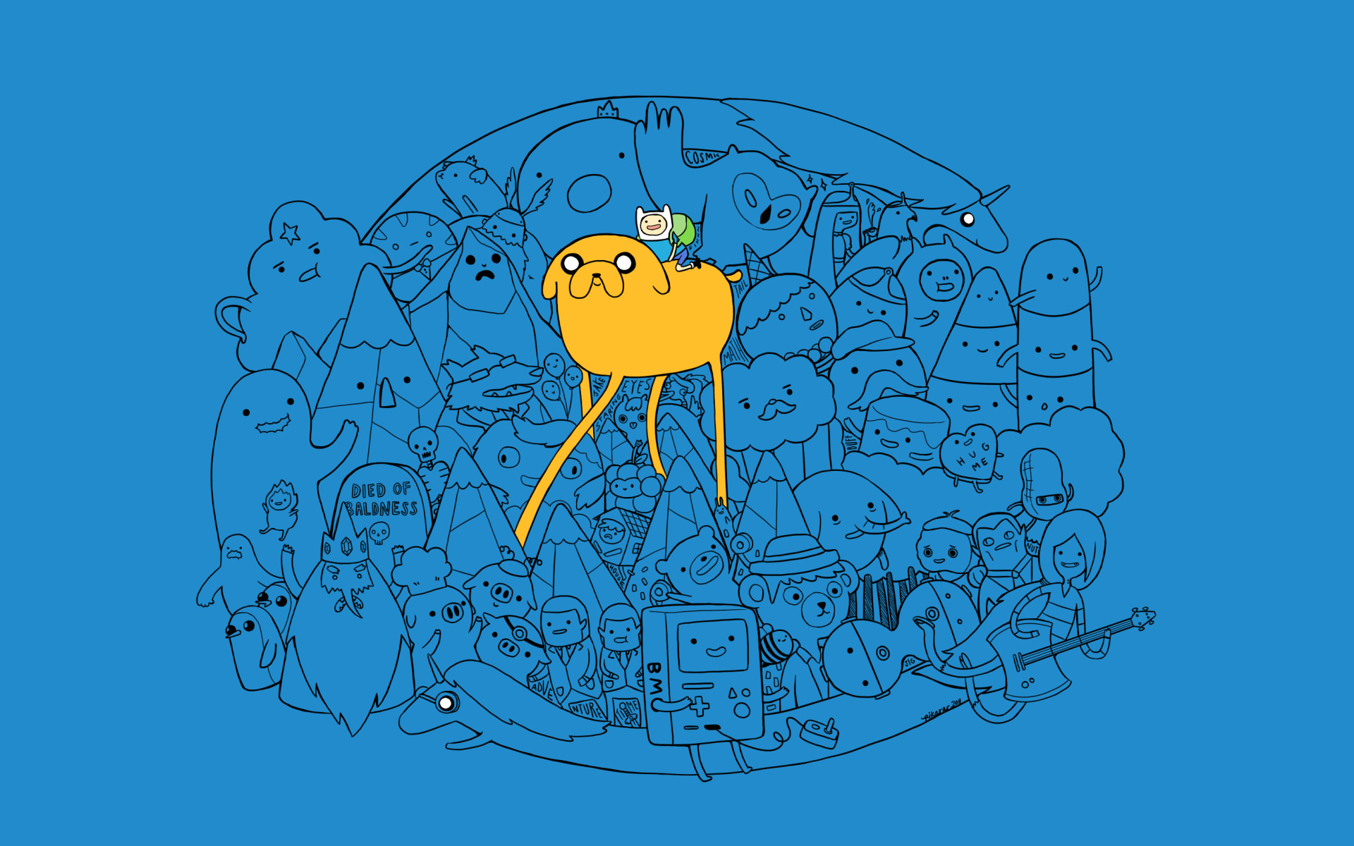 1920x1200 Full HD Wallpapers Adventure Time HD 757.72 Kb