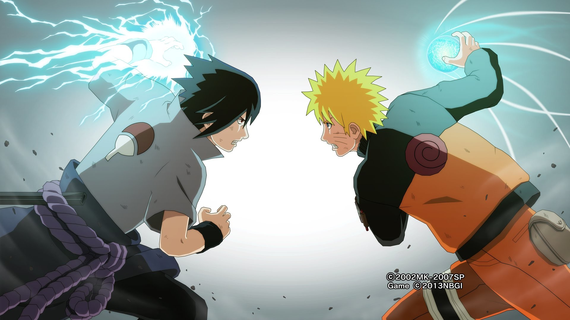 1920x1080 Naruto vs Sasuke the final battle 3D!!! (or 2d if u prefer that)