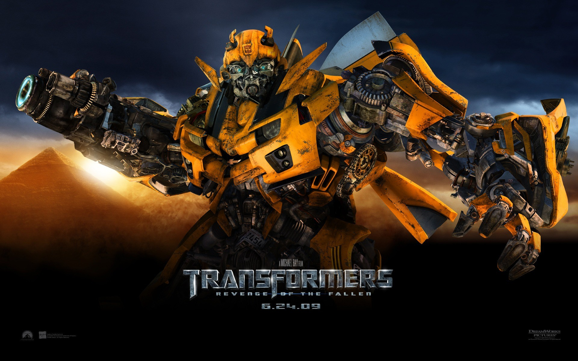 1920x1200 Transformers 2 Bumblebee Wallpaper Transformers 2 Movies Wallpapers