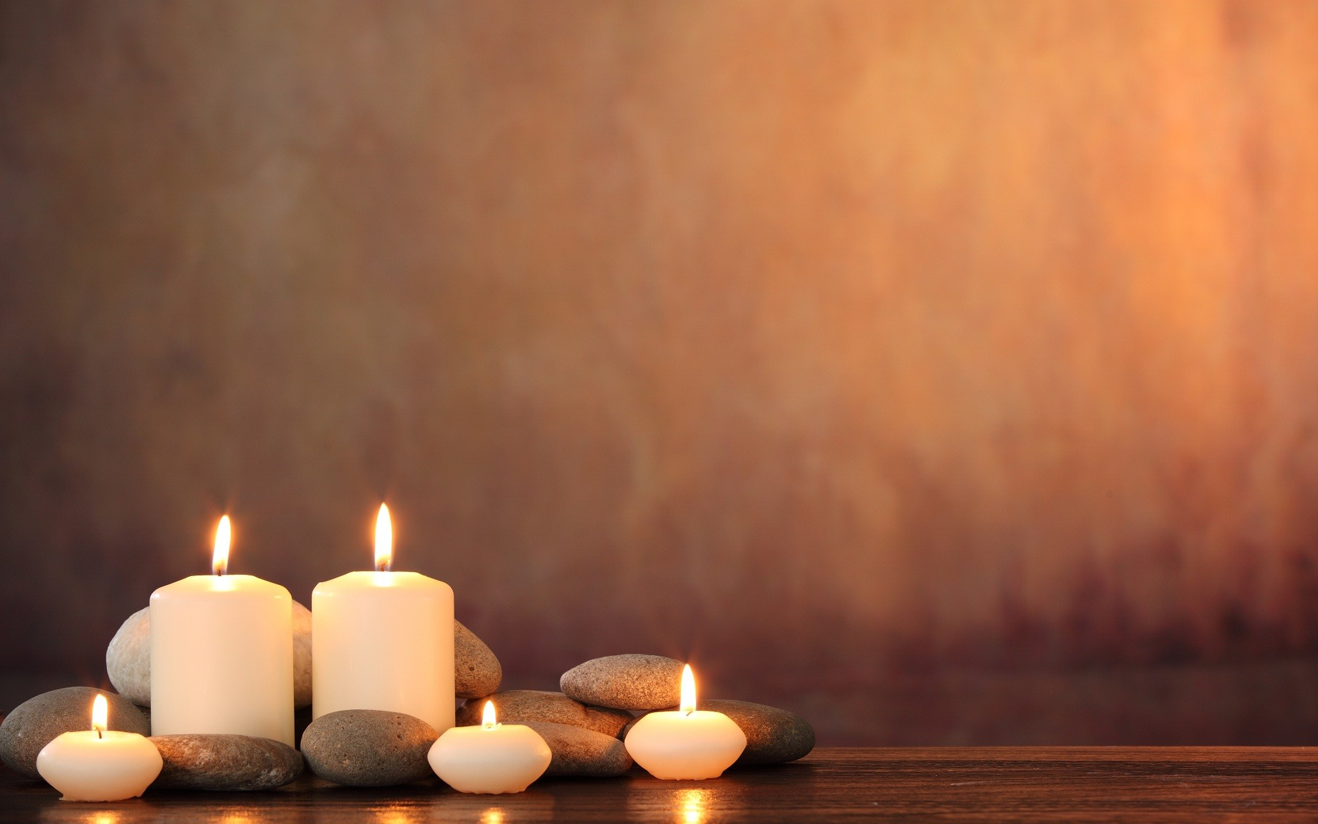 1920x1200 Candle light wonderful wide wallpaper