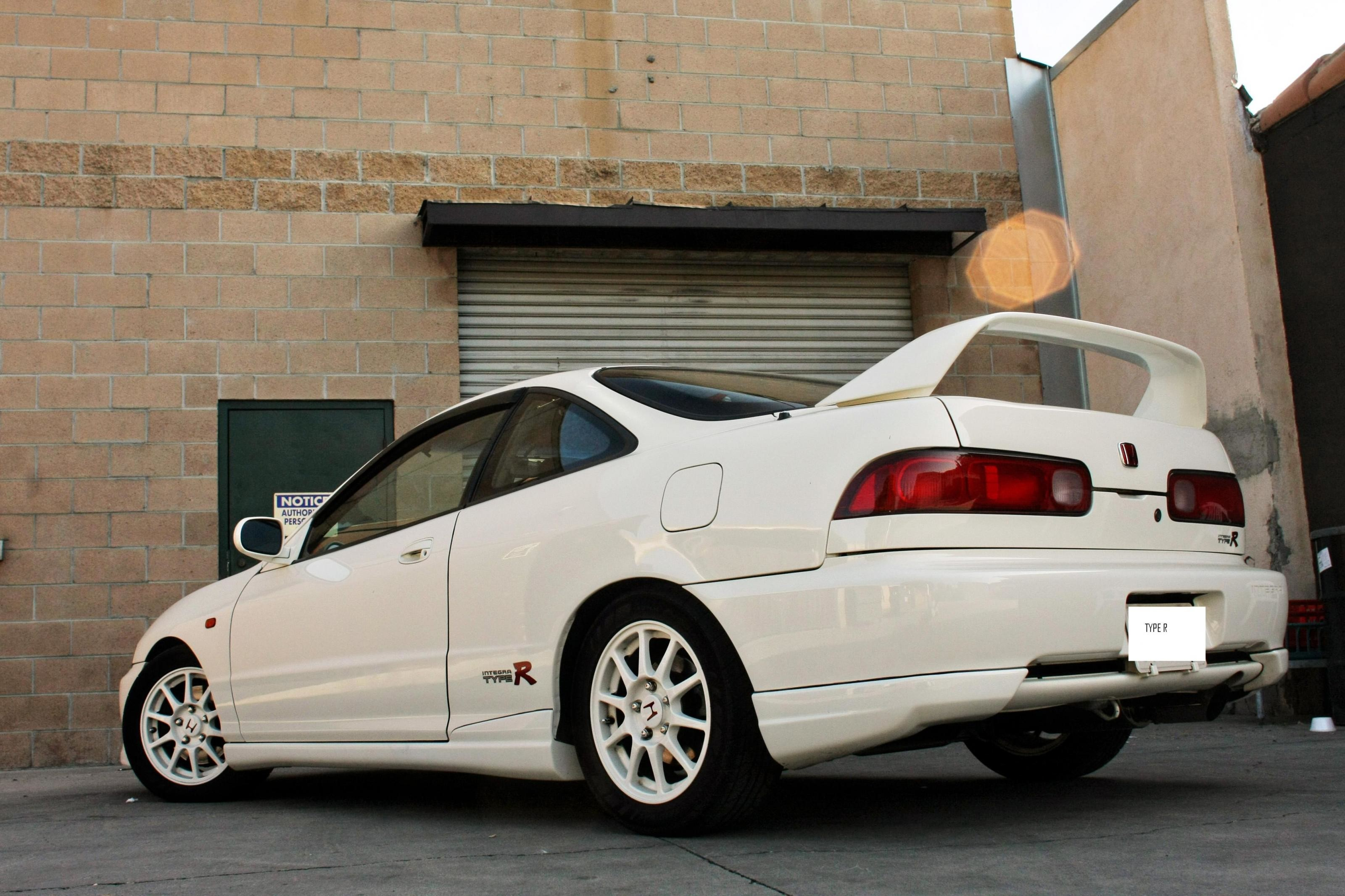 on Custom Acura Integra Type R