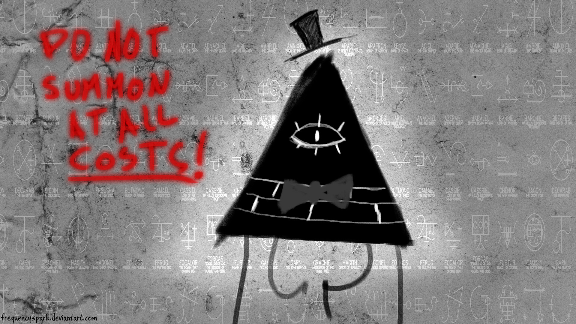 1920x1080 Bill Cipher wallpaper by Sparxyz Bill Cipher wallpaper by Sparxyz