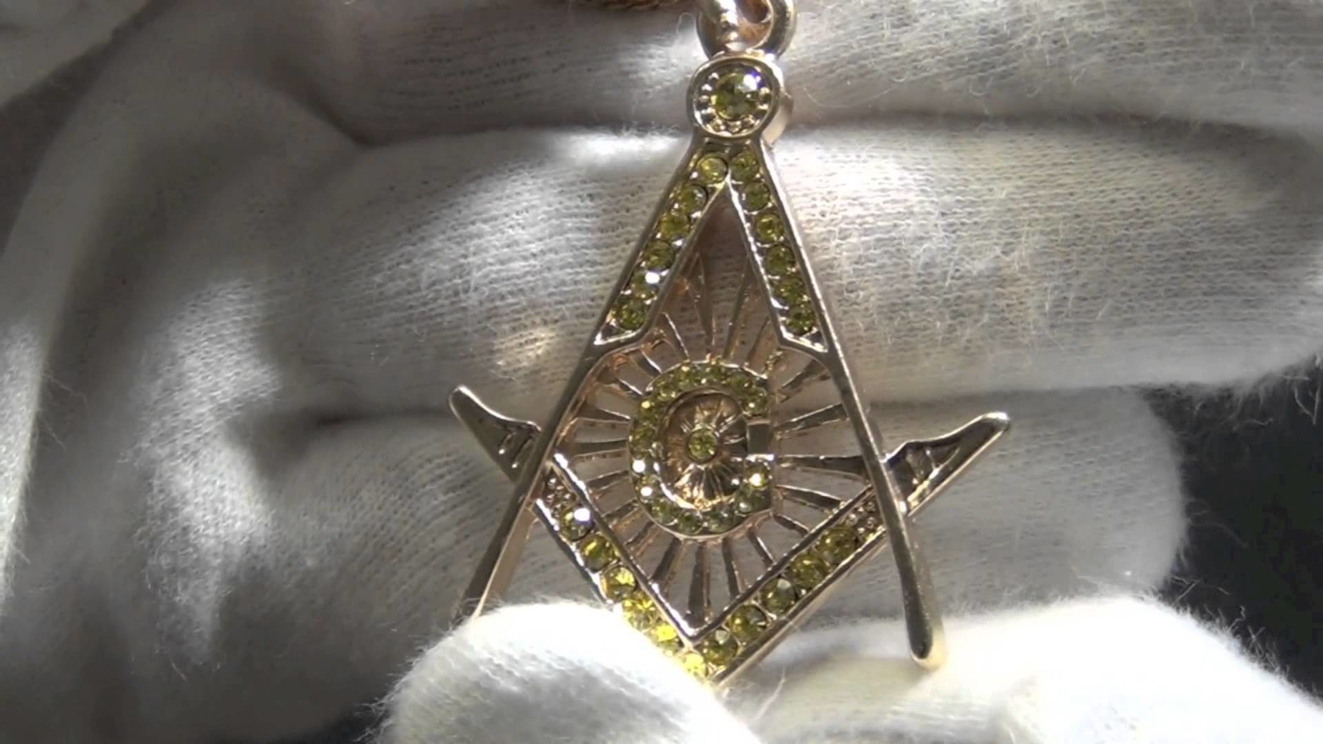 1920x1080 Masonic Freemason Lemonade Small Pendant Chain Set