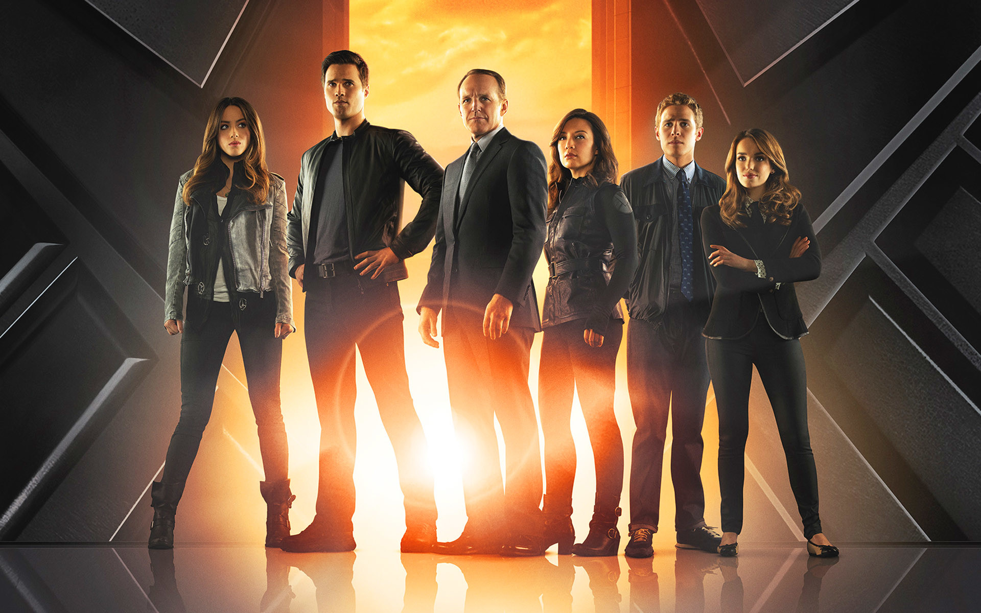 1920x1200 Agents of SHIELD All Cast Wallpaper - HD Wallpaper Rate