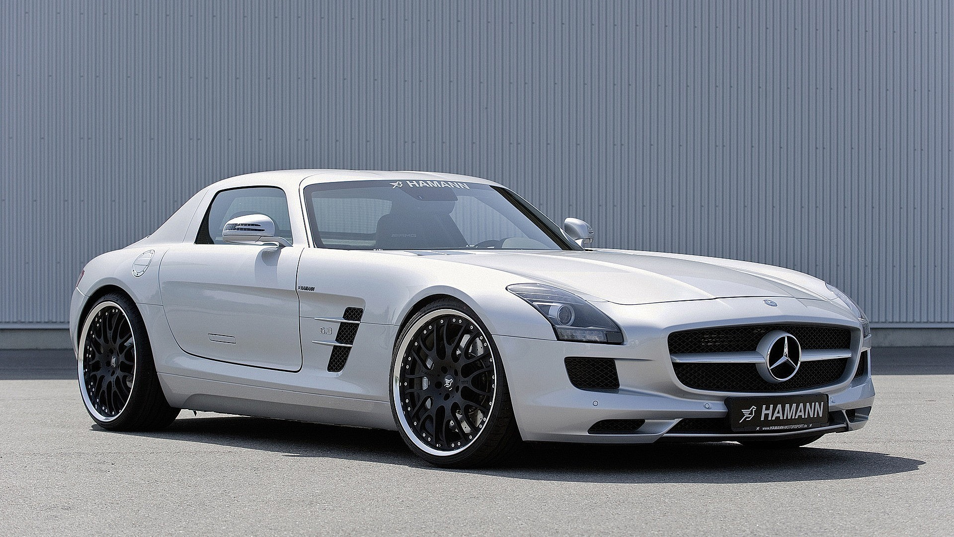 1920x1080 Hamann Mercedes Benz Sls Amg 2010 Hd Wallpaper ...