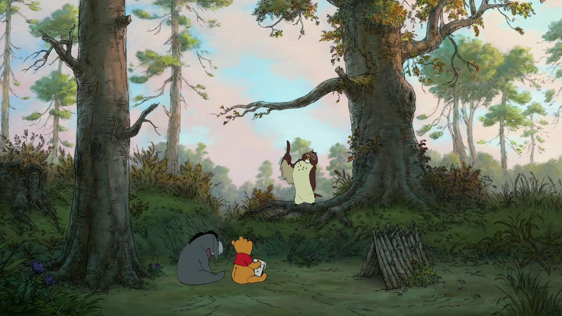 1920x1080 winnie the pooh forest - Google Search