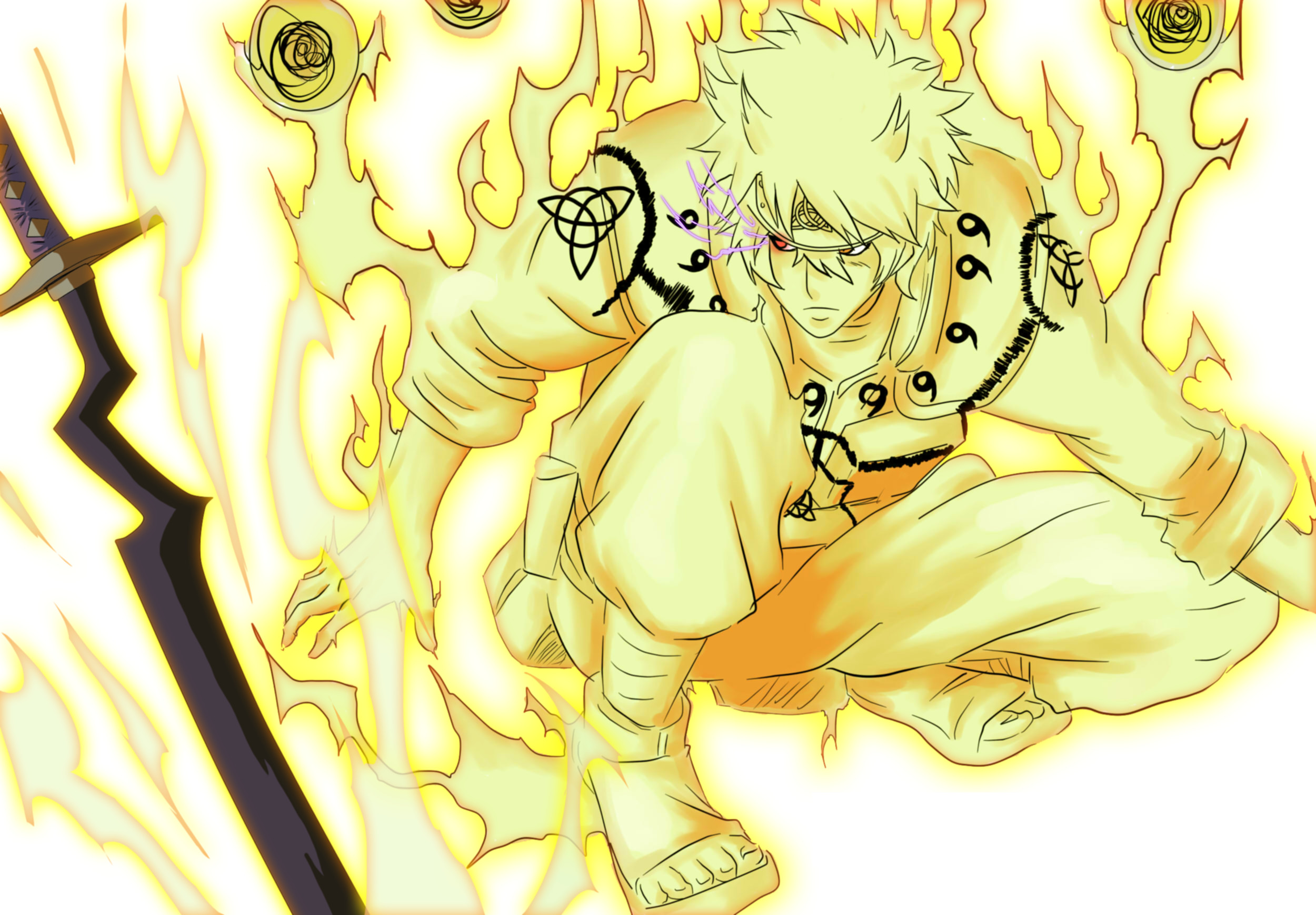 Naruto Nine Tails Wallpaper (68+ images)