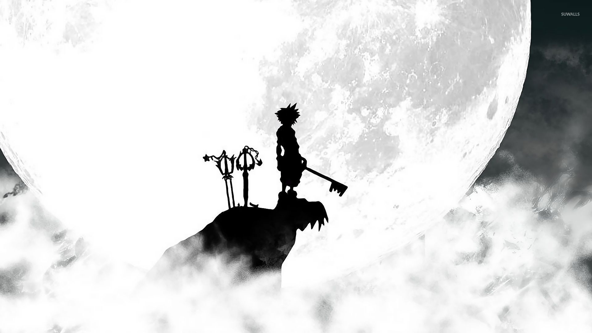 1920x1080 ... Kingdom Hearts 3 Warrior On The Cliff Wallpaper. Download