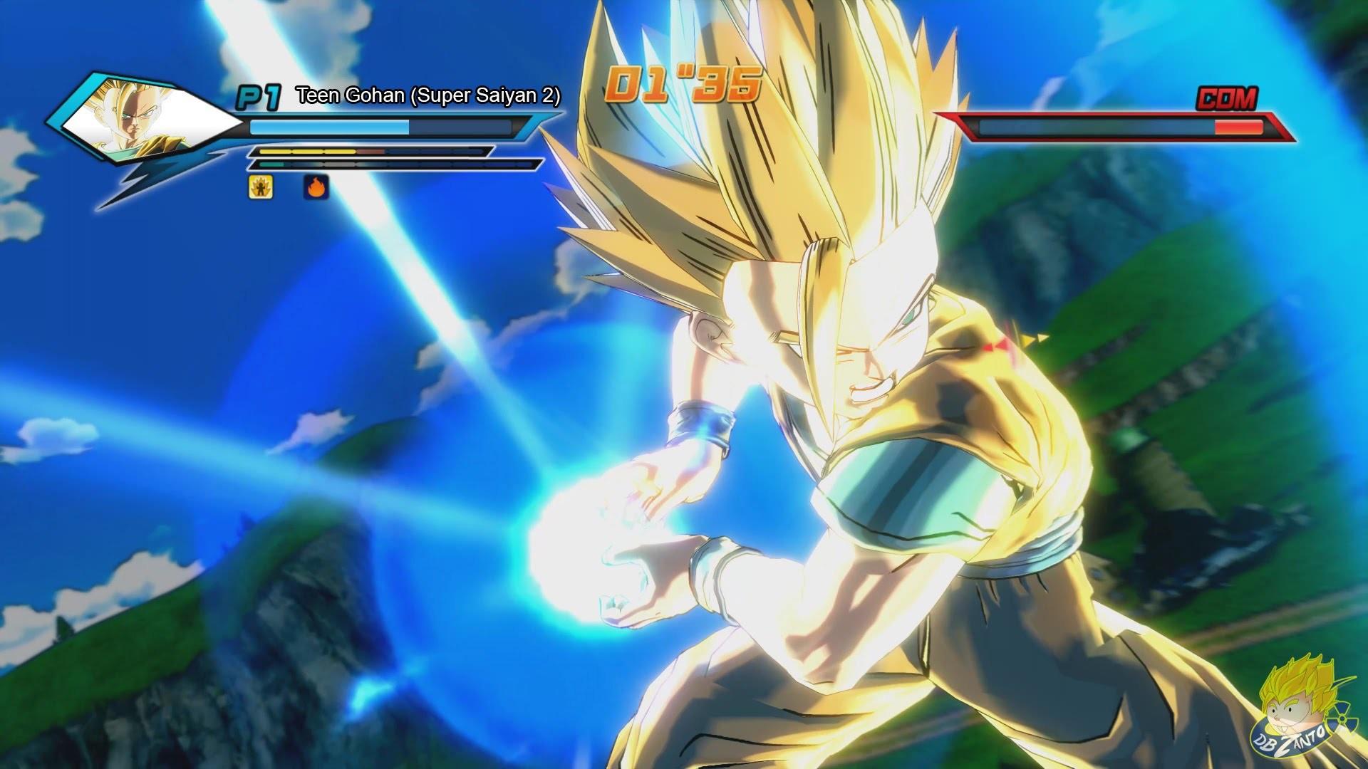 563b19a9 1920x1080 Dragon Ball Z: Battle of Z - | Teen Gohan Transforms Into A Super  Saiyan 2 |〠FULL HDã€' - YouTube