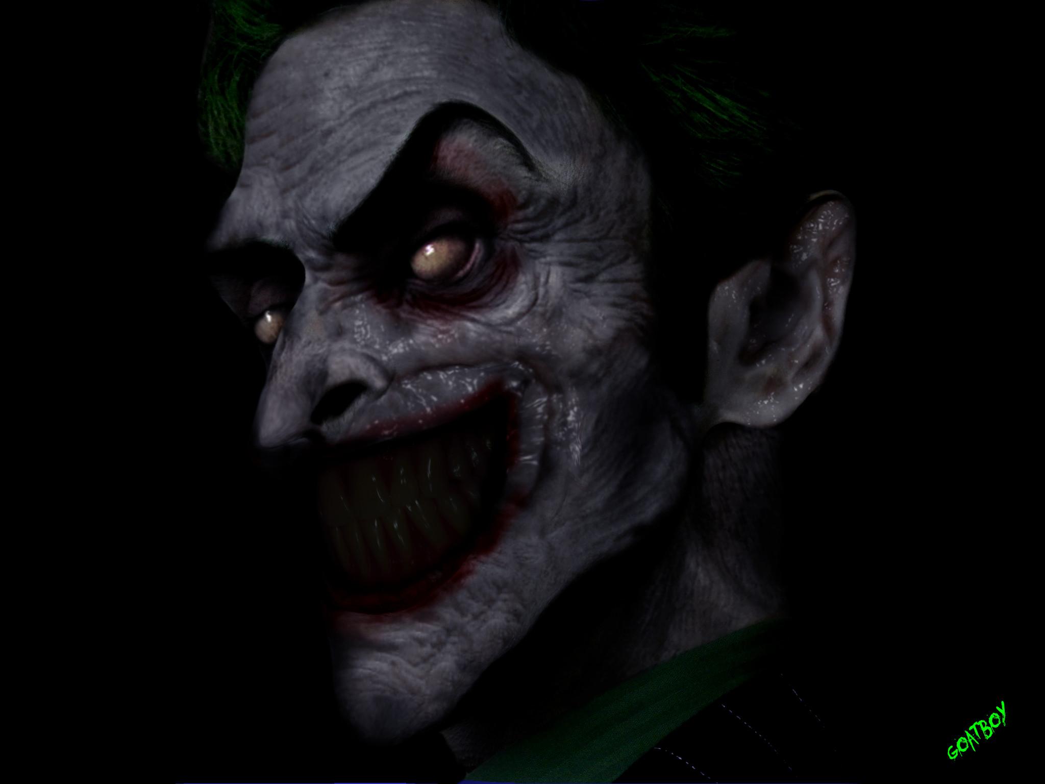 Evil Batman Wallpaper Evil Joker Wallpaper (...