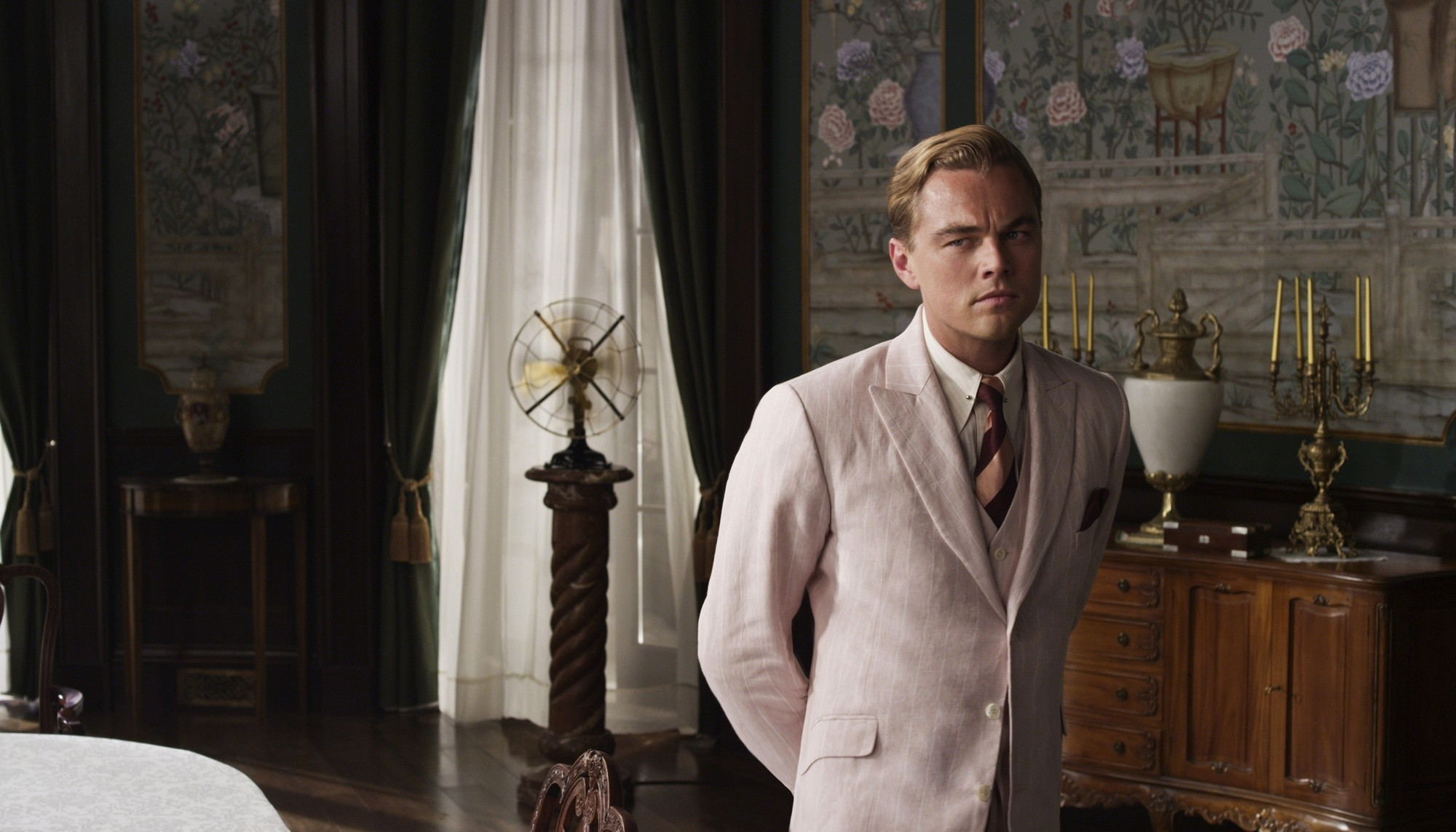 2000x1143 2013 Movie Leonardo DiCaprio The Great Gatsby Wallpapers
