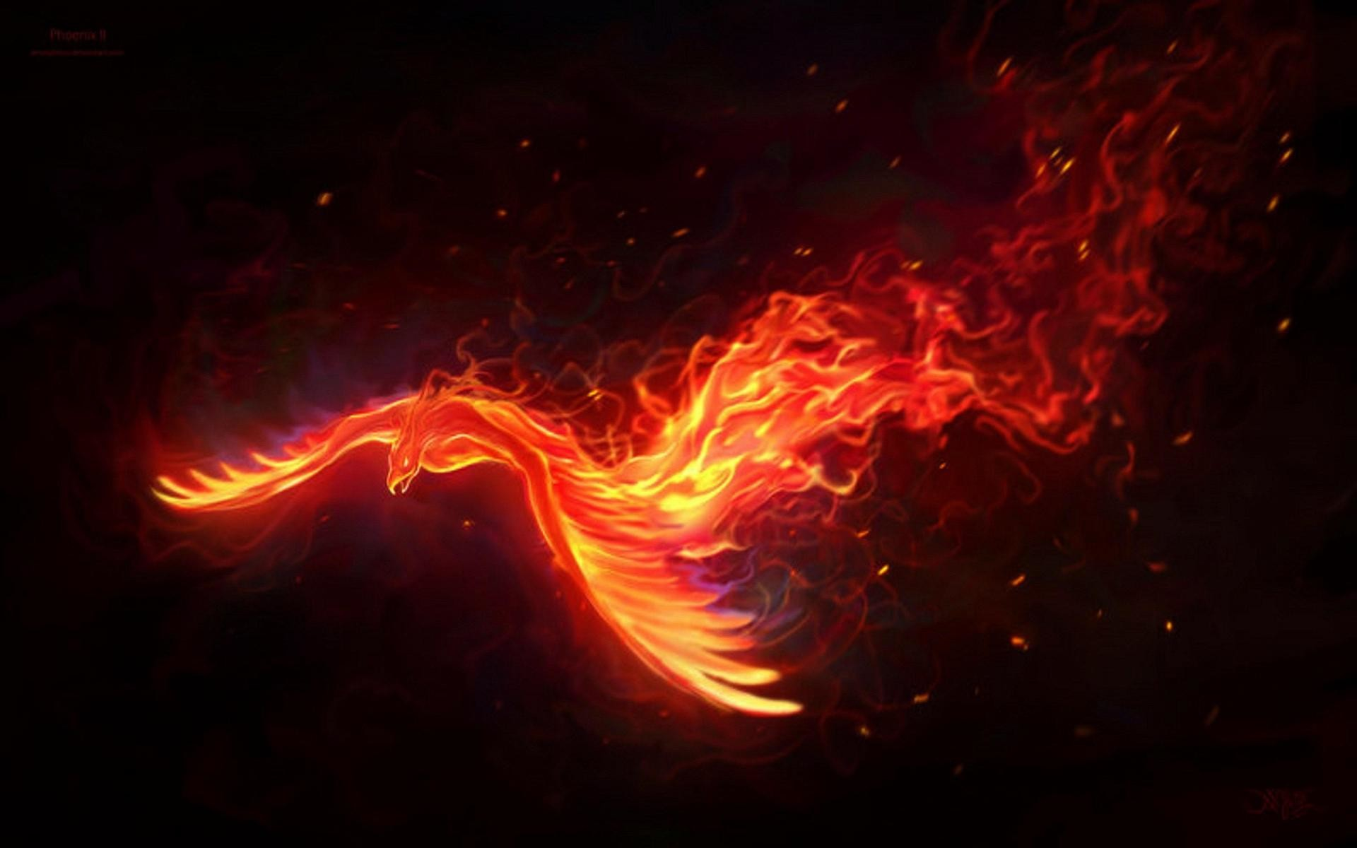 1920x1200 Fire phoenix 89329 High Quality and Resolution Wallpapers on