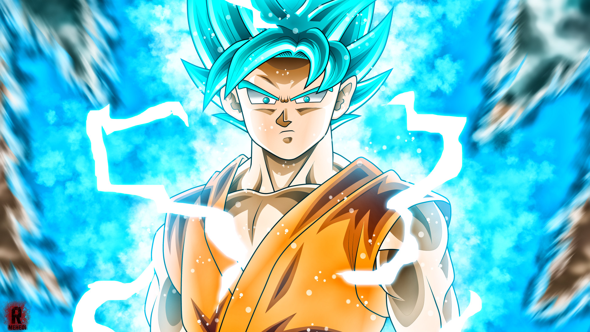 1920x1080 HD Super Saiyan 3 Goku Dragon Ball Z Wallpaper Full Size