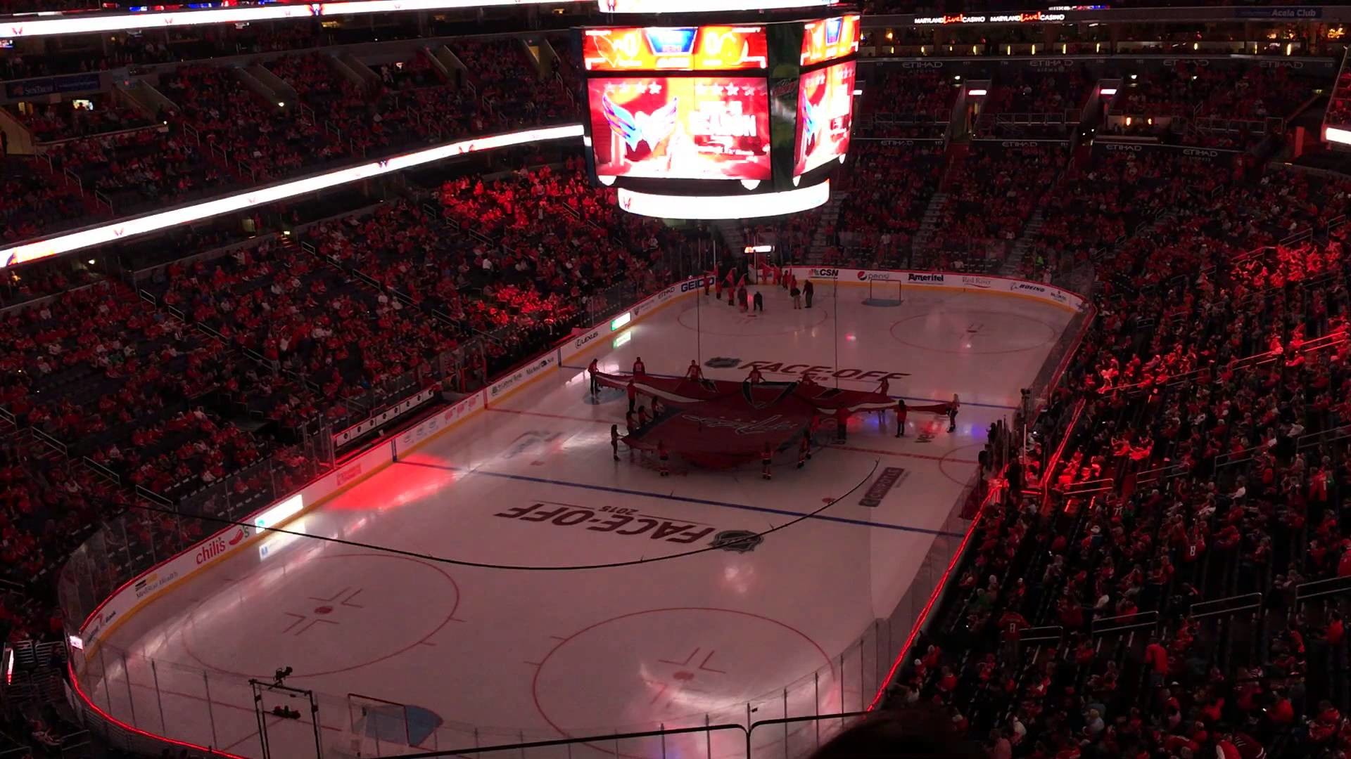 1920x1080 Washington Capitals: 2015-2016 Opening Night Introductions / Video