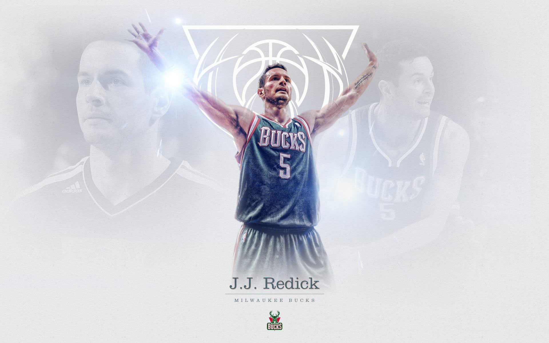 1920x1200 J. J. Redick Bucks  Wallpaper