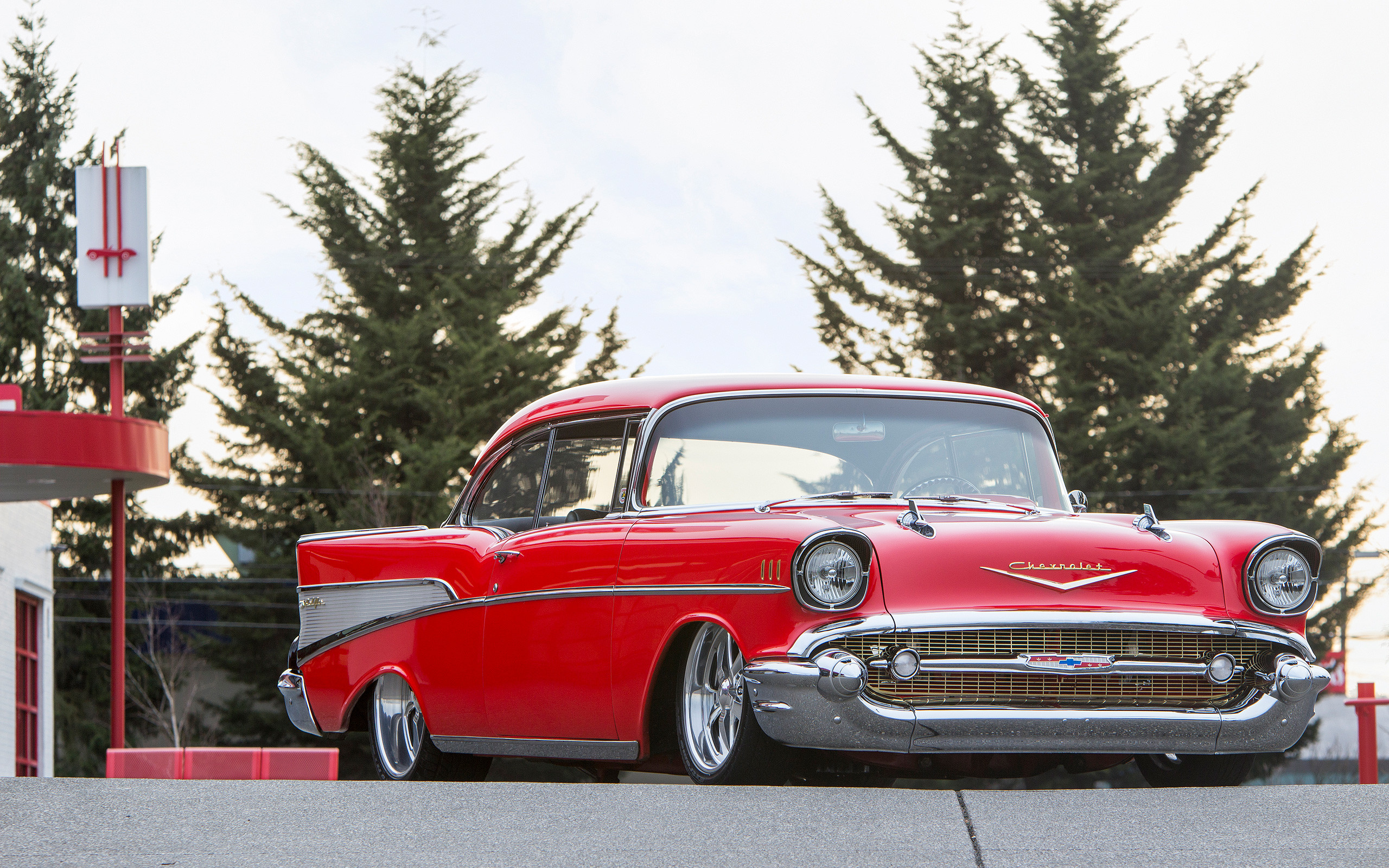 2560x1600 Your 1957 Chevy Bel Air Wallpapers Are Here