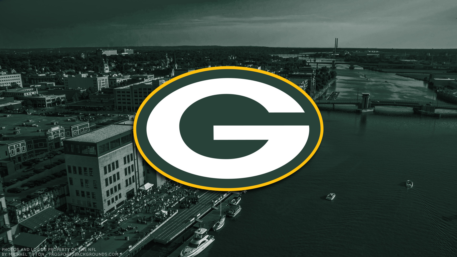 1920x1080 ... Green Bay Packers 2017 football logo wallpaper pc desktop computer ...