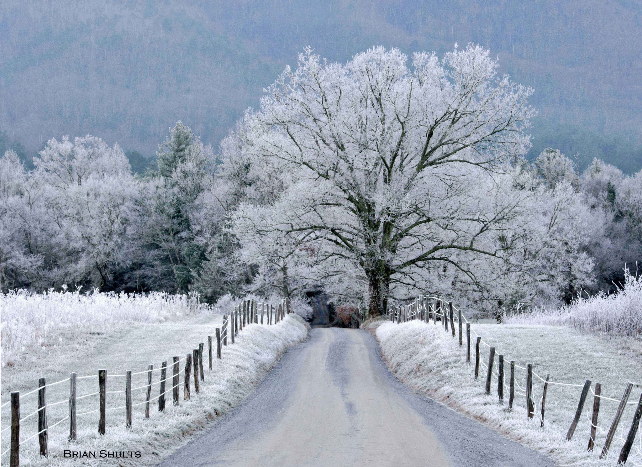 Smoky Mountain Winter Scenes Wallpaper (42+ Images