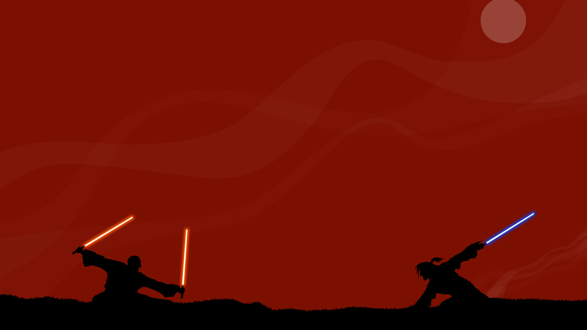1920x1080 Download 'jedi vs sith wallpaper' HD wallpaper