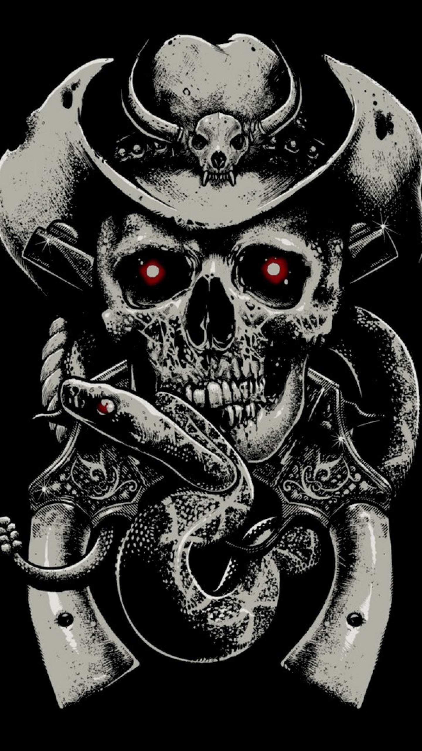 Skulls And Guns Wallpaper 59 Images