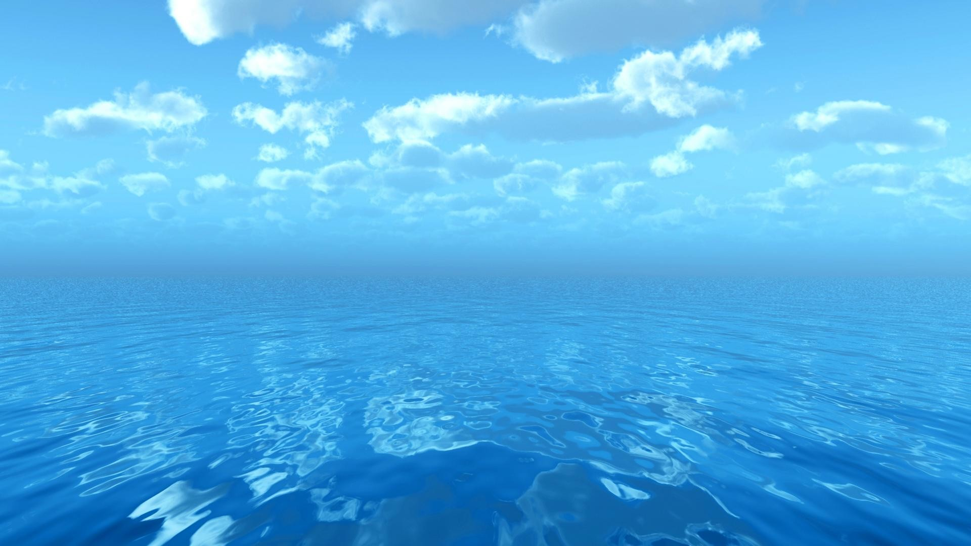 1920x1080 ocean, water, clouds, wow, nature